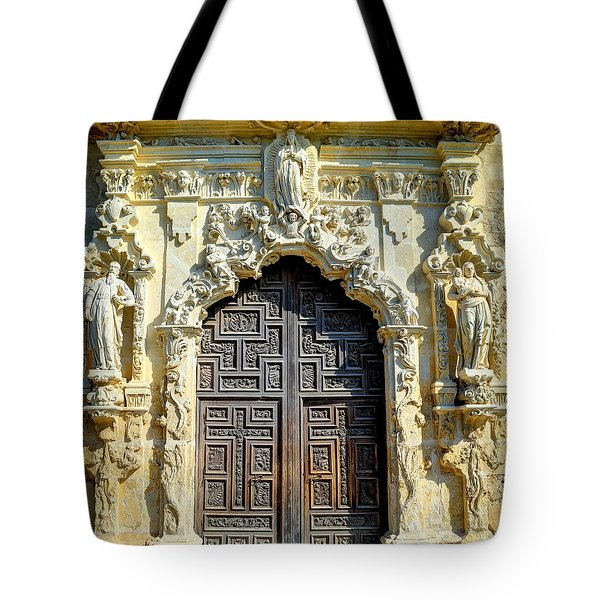 Mission Door Tote Bag