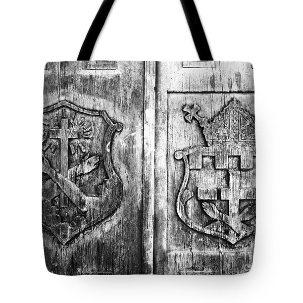 Mission Doors Tote Bag by David Lee Thompson