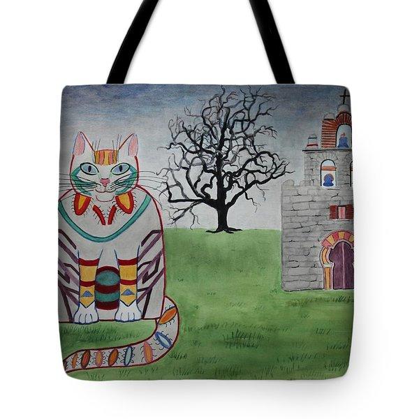 Mission Espada Cat Tote Bag