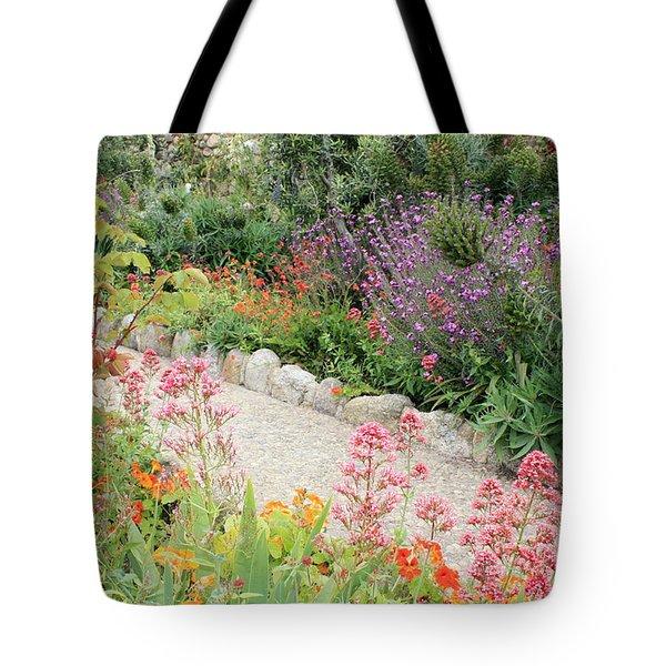 Mission Garden Tote Bag by Carol Groenen