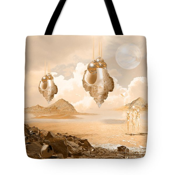 Mission In A Far Planet Tote Bag