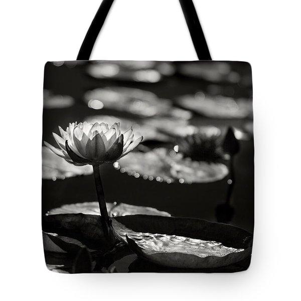 Mission Lotus Tote Bag