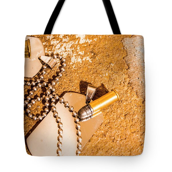 Mission Of Freedom Tote Bag