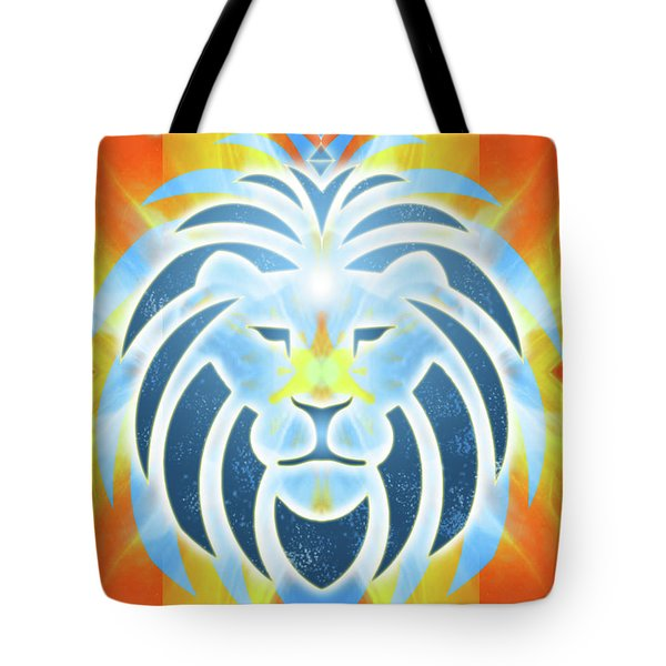Mission Piece 2b Lions Gate Tote Bag by Ginny Gaura