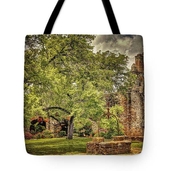 Mission Place Tote Bag