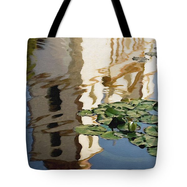 Mission Reflection Tote Bag by Sharon Foster