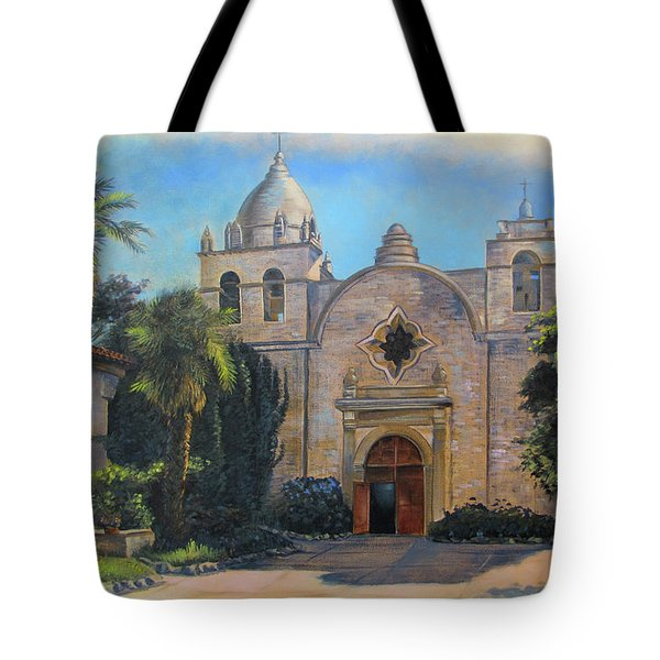 Mission San Carlos In Carmel By The Sea Tote Bag