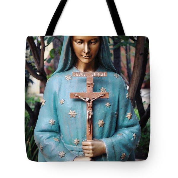 Tote Bag featuring the photograph Mission San Fernando Rey De Espana by Kyle Hanson