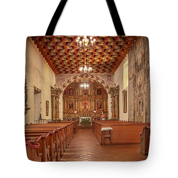 Mission San Francisco De Asis Interior Tote Bag