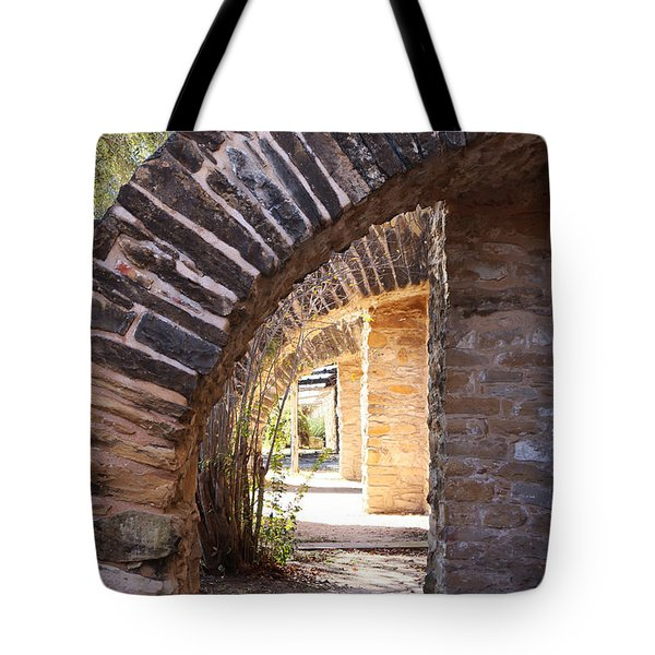 Mission San Jose Tote Bag by Jeanette French