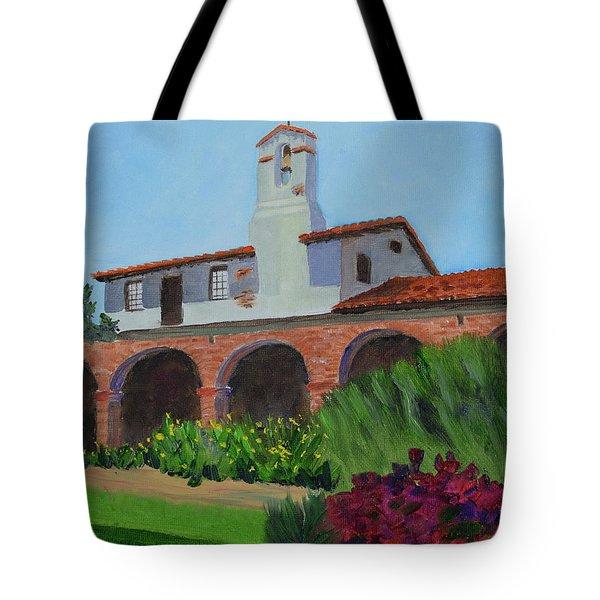 Mission San Juan Capistrano Tote Bag
