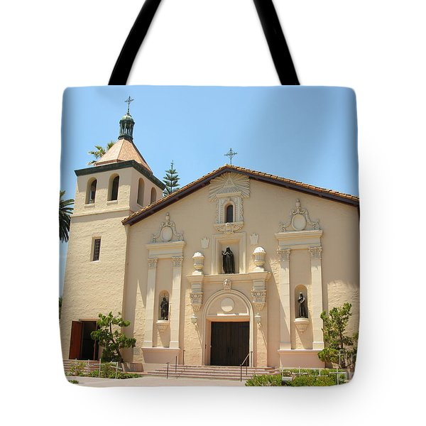 Mission Santa Clara Tote Bag by Mini Arora