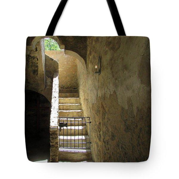 Mission Stairway  Tote Bag