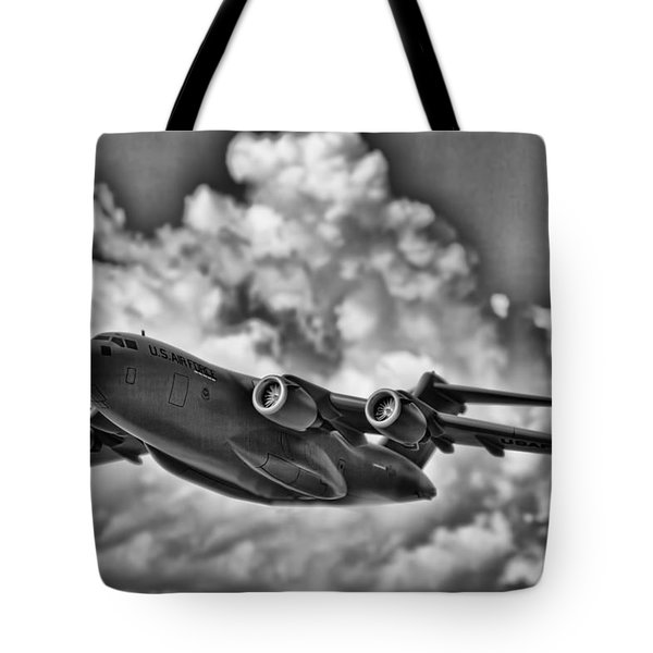 Mission-strategic Airlift Tote Bag by Douglas Barnard