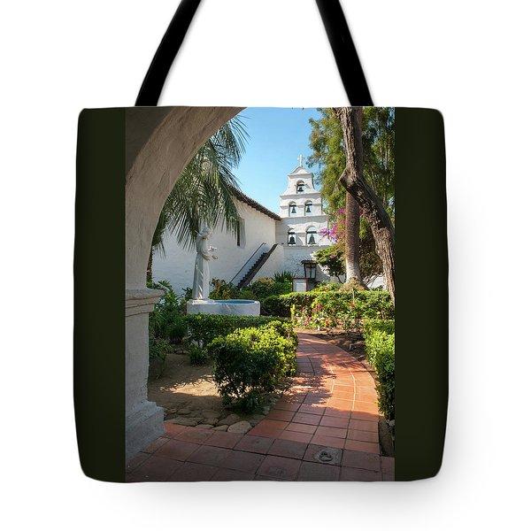 Mission Walk Tote Bag