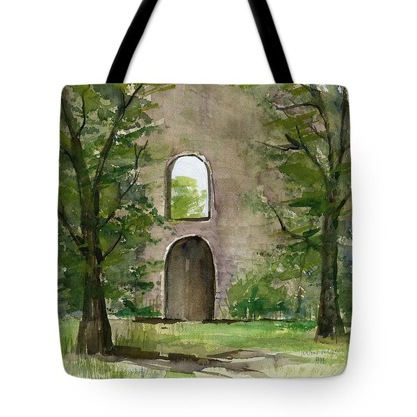 Mission Wall Tote Bag by Arline Wagner