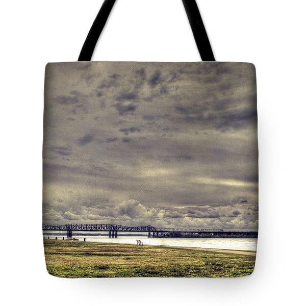Mississipi River Tote Bag