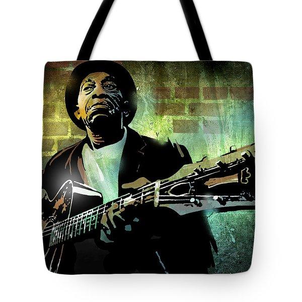 Mississippi John Hurt Tote Bag by Paul Sachtleben