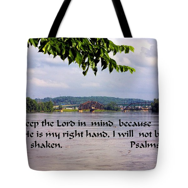 Mississippi River Olams 16v8 Tote Bag