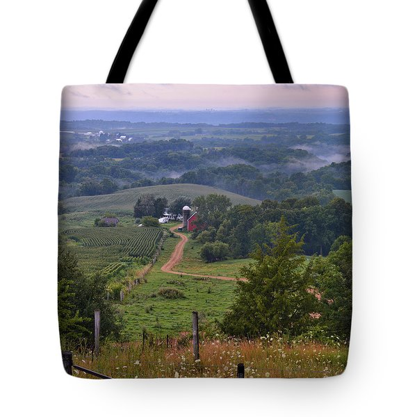 Mississippi River Valley 2 Tote Bag