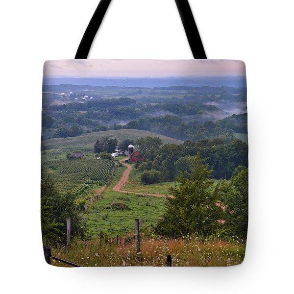 Mississippi River Valley 2 Tote Bag