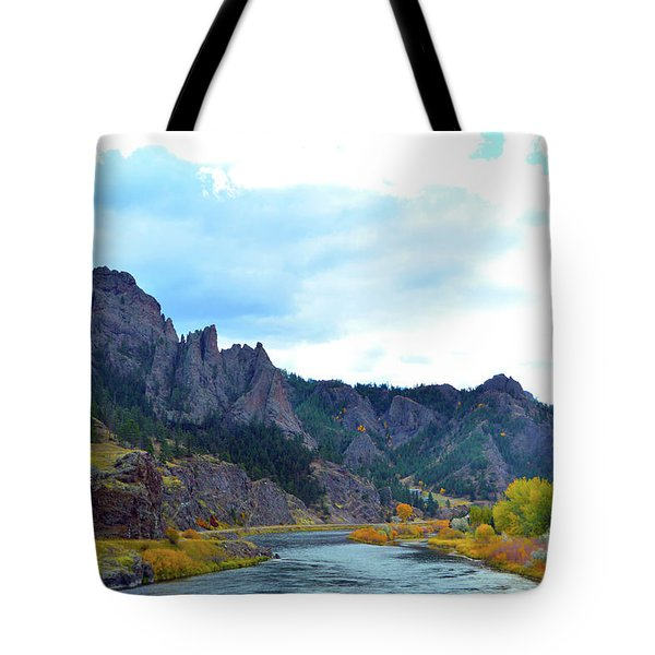 Missouri River Colors Tote Bag