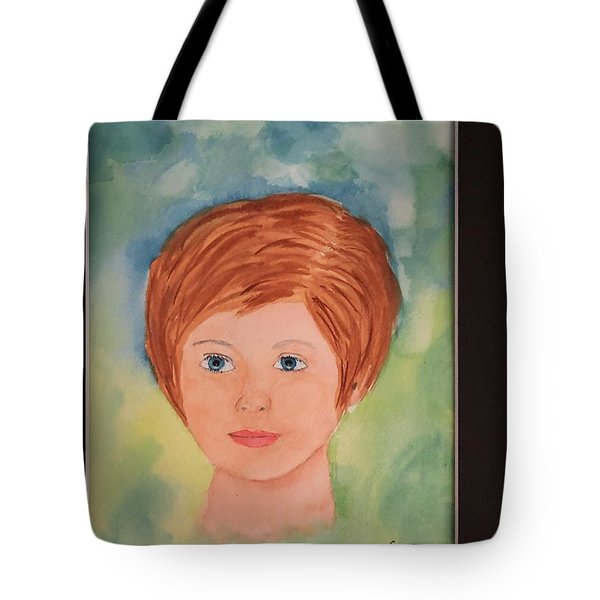 Tote Bag featuring the painting Missy by Donald Paczynski
