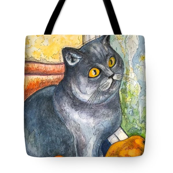 Missy With Fruits Tote Bag