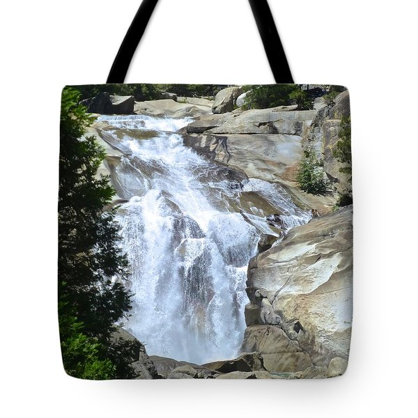 Mist Falls Tote Bag by Amelia Racca