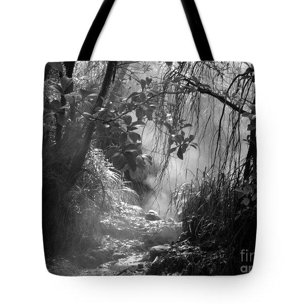 Mist In The Jungle Tote Bag