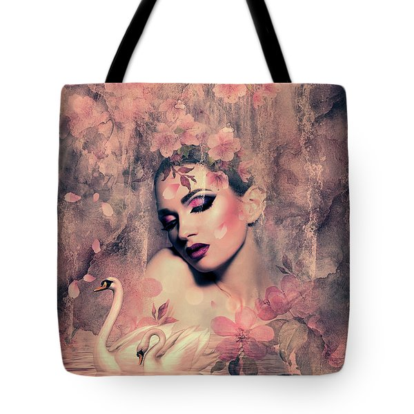 Mist In The Morning Tote Bag