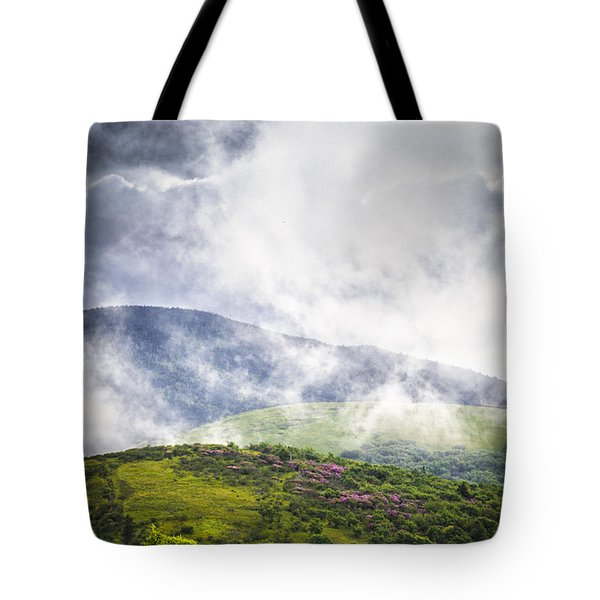 Rhododendrons - Roan Mountain Tote Bag