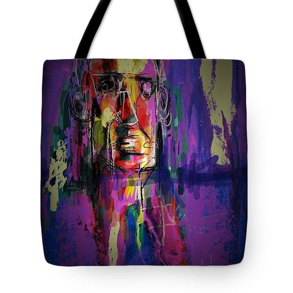 Mister Head Tote Bag by Jim Vance