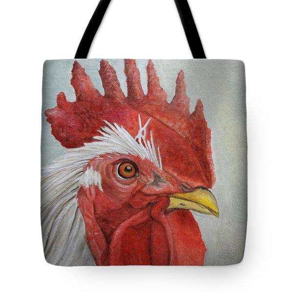 Mister Rooster Tote Bag