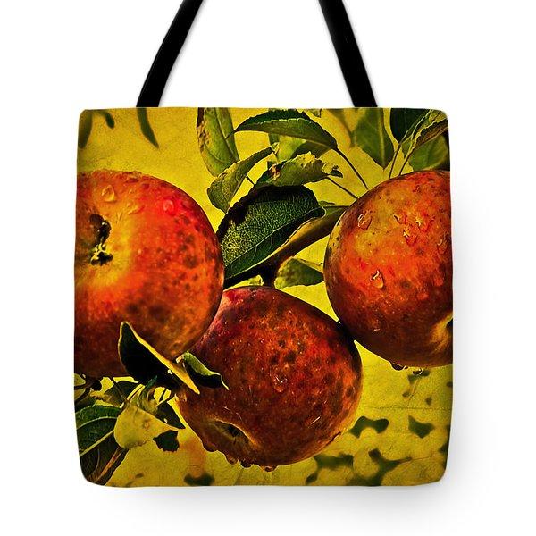 Mister's Apples Tote Bag