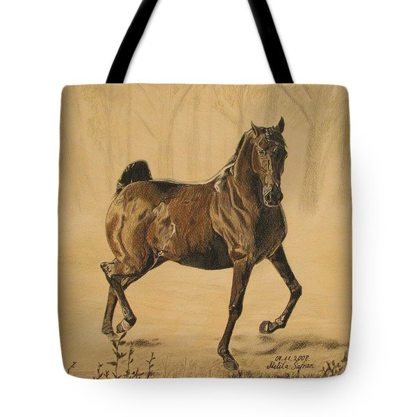 Mistical Horse Tote Bag