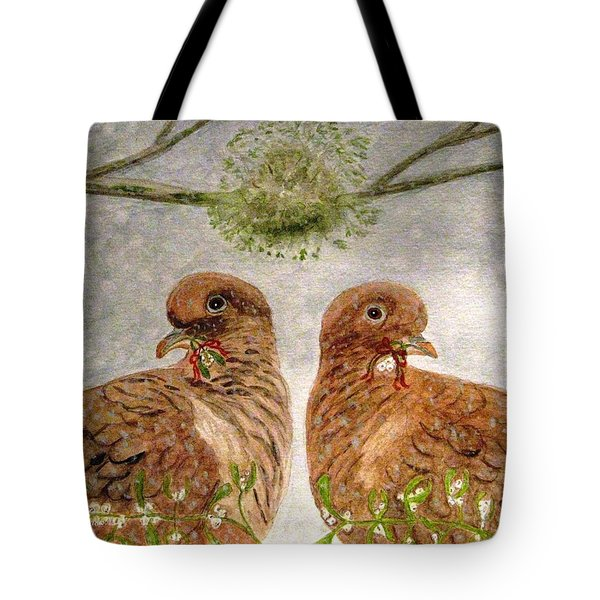 Mistletoe Magic Tote Bag