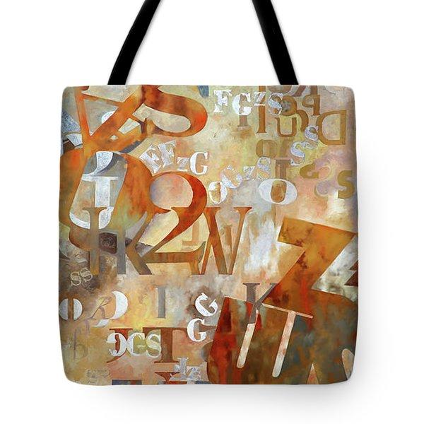 Misto Arancione Tote Bag