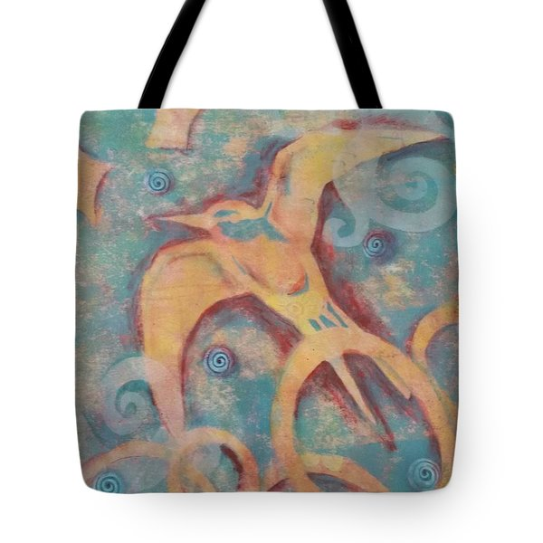 Mistral's Messenger Tote Bag