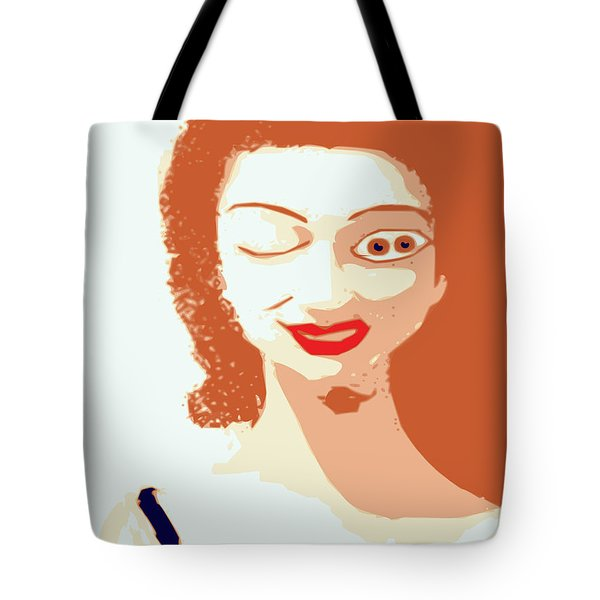 Mistress Of Duality Tote Bag