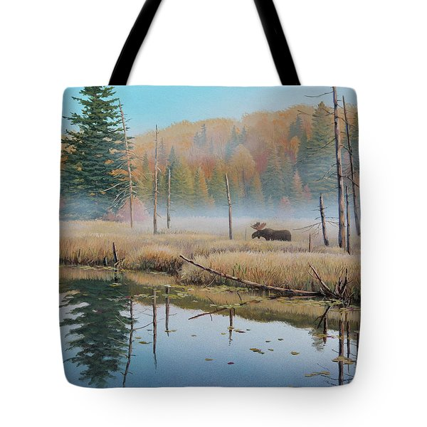 Mists Of Dawn Tote Bag