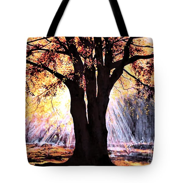 Mists Of Time  Tote Bag