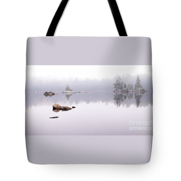 Misty Algonquin Morning Tote Bag