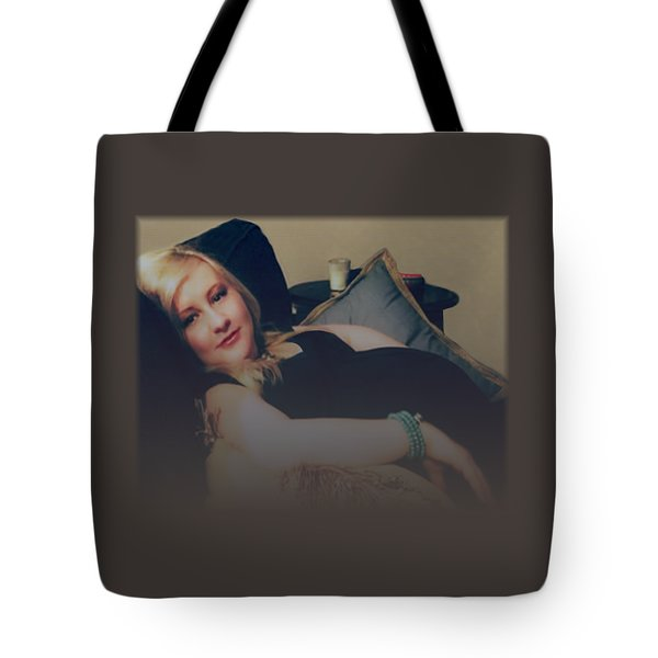 Misty Annah Relaxing Tote Bag by Ellen O'Reilly