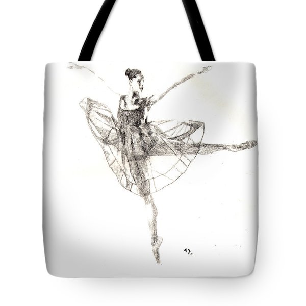 Misty Ballerina Dancer IIi Tote Bag