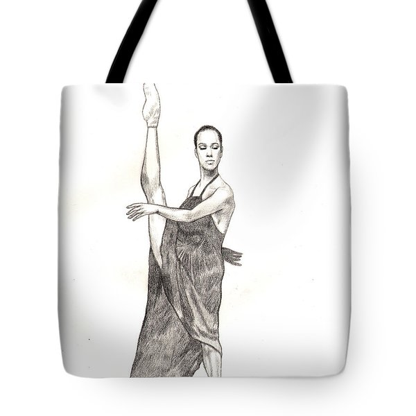 Misty Ballerina Dancer  Tote Bag