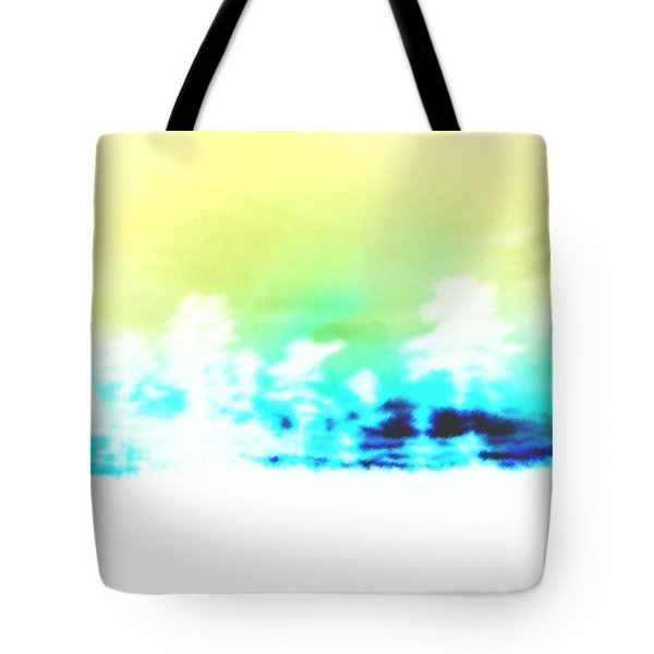 Misty Blues Tote Bag