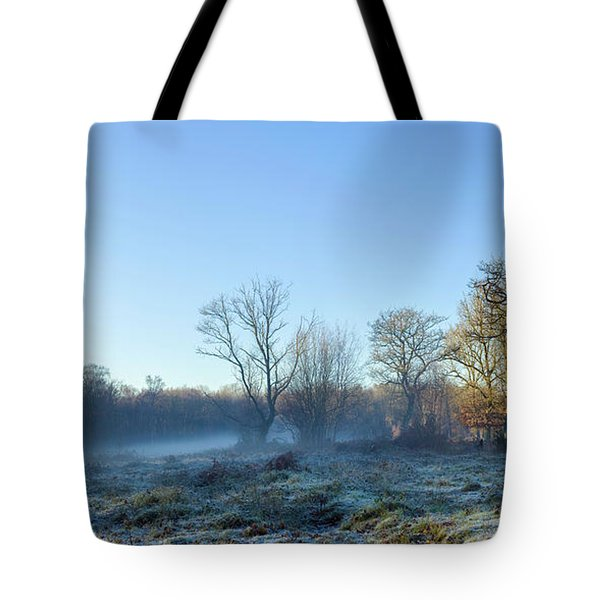 Misty Clearing Tote Bag