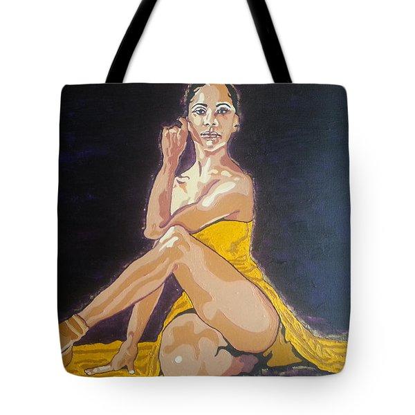Misty Copeland Tote Bag