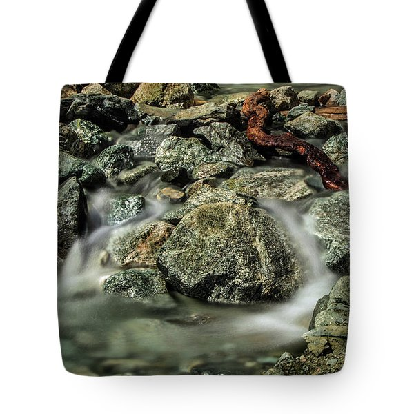 Misty Creek Tote Bag